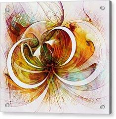 Tendrils 14 Acrylic Print by Amanda Moore