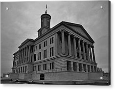 Tennessee State Capitol Building Acrylic Print by Steven Richman