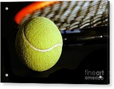 Tennis Equipment Acrylic Print by Michal Bednarek