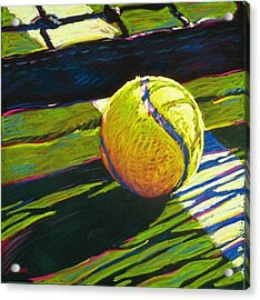 Tennis I Acrylic Print by Jim Grady
