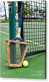 Tennis - Tennis Anyone Acrylic Print by Paul Ward