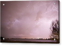 Terry Lake Lightning Thunderstorm Acrylic Print by James BO  Insogna