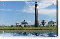 Texas Lighthouse Acrylic Print by Cecil Fuselier
