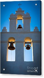 Texas Mission Acrylic Print by Inge Johnsson