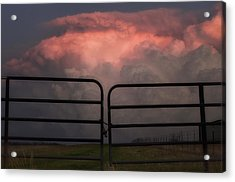 Texas Storms Acrylic Print by Kimberly Danner