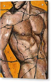 Thaddeus - Study No. 1 Acrylic Print by Steve Bogdanoff