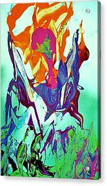 Than Are Dreamed Of Acrylic Print by Bruce Combs - REACH BEYOND
