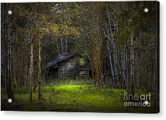 That Old Barn Acrylic Print by Marvin Spates