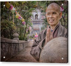 Thay At Root Temple Acrylic Print by Paul Davis