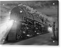 The 1218 On The Move 2 Acrylic Print by Mike McGlothlen