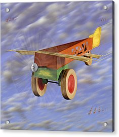 The 356th Toy Plane Squadron 2 Acrylic Print by Mike McGlothlen