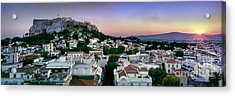 Athens Acrylic Print by Rod McLean