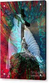 The Agony And The Ecstacy Acrylic Print by Rick Rauzi