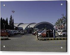 The Airport In Srinagar The Capital Of Jammu And Kashmir Acrylic Print by Ashish Agarwal