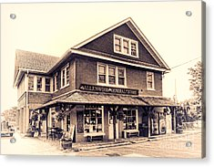 The Allenwood General Store Acrylic Print by Olivier Le Queinec