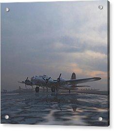 The Aluminum Overcast Acrylic Print by Hangar B Productions