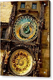 The Ancient Of Clocks Acrylic Print by Ira Shander
