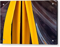 The Angle Project - Covered Angle - Featured 2 Acrylic Print by Alexander Senin
