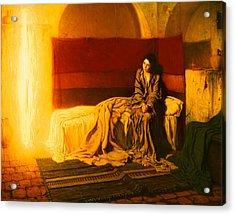 The Annunciation Acrylic Print by Mountain Dreams