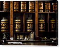 The Apothecary Acrylic Print by Heather Applegate