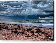 The Approaching Storm Acrylic Print by Matt Dobson