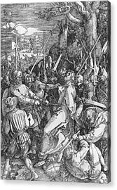 The Arrest Of Jesus Christ Acrylic Print by Albrecht Durer or Duerer
