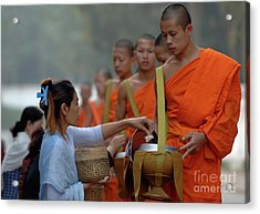 The Art Of Giving Acrylic Print by Bob Christopher