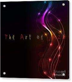 The Art Of Jazz Acrylic Print by Liane Wright