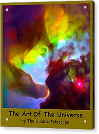 The Art Of The Universe 266 Acrylic Print by The Hubble Telescope