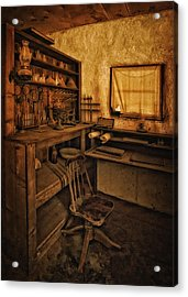 The Assay Office Acrylic Print by Priscilla Burgers
