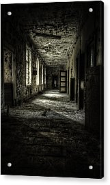 The Asylum Project - Corridor Of Terror Acrylic Print by Erik Brede