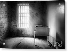 The Asylum Project - Empty Bed Acrylic Print by Erik Brede