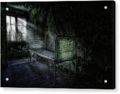 The Asylum Project - Seven Acrylic Print by Erik Brede