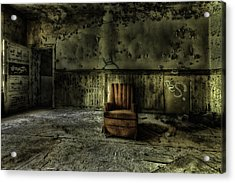 The Asylum Project - The Empty Chair Acrylic Print by Erik Brede