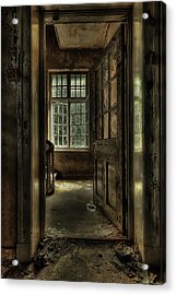 The Asylum Project - Welcome Acrylic Print by Erik Brede