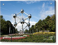 The Atomium Acrylic Print by Juli Scalzi
