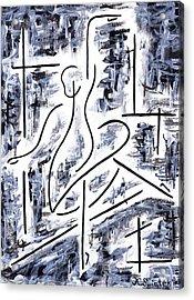 The Ballet Rehearsal Acrylic Print by Kamil Swiatek