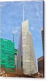 The Bank Of America Building Acrylic Print by Artistic Photos