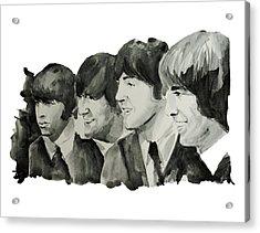 The Beatles 2 Acrylic Print by Bekim Art