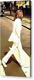 The Beatles Abbey Road Artwork Part 4 Of 4 Acrylic Print by Sheraz A