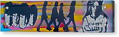 The Beatles Long Wood Acrylic Print by Tony B Conscious