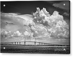 The Beautiful Skyway Acrylic Print by Marvin Spates