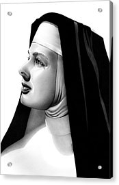 The Bell's Of St. Mary's Sister Mary Benedict Acrylic Print by Fred Larucci
