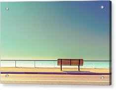 The Bench Acrylic Print by Arnaud Bratkovic