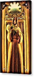 The Benedictine Monk Acrylic Print by Lee Dos Santos