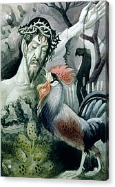The Betrayal Acrylic Print by Osmund Caine