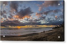 The Big Show Acrylic Print by Sean Foster