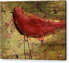 The Bird - 24a Acrylic Print by Variance Collections