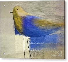 The Bird - J100124164-c21 Acrylic Print by Variance Collections
