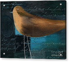 The Bird - J100124164-c25 Acrylic Print by Variance Collections